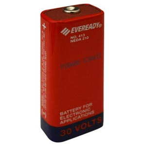 eveready 413 carbon zinc 30v