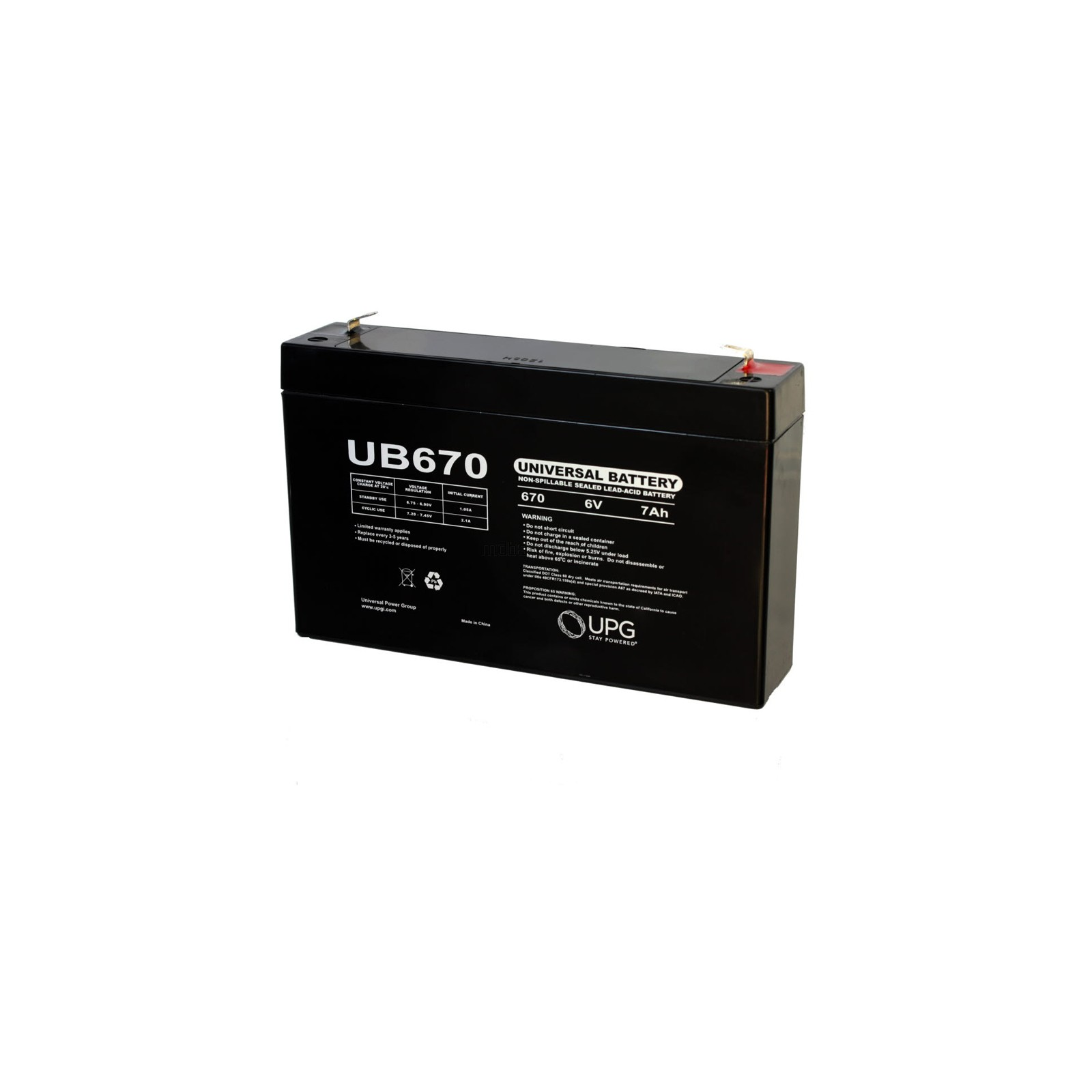 Emergi-Lite TC626 Compatible Replacement Battery