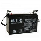 12V 110Ah AGM SLA Emergency Lighting Battery UB121100 Group 30H