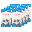 Hearing Aid Battery A675/B10_40 Evergreen 40pk, Size 675, 1.4V