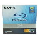 Sony 25GB Write-Once BD-R Blu-ray Disc 2x Write Speed