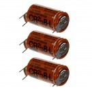 3x Fuji 2/3 8-L 3V Lithium Battery (ER17/33 equivalent) with Pin Tabs