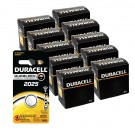 100pk Duracell Coin Cell Battery DL2025 Lithium Replaces CR2025 LM2025