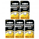 5pk Duracell Coin Cell Battery DL2025 Lithium Replaces CR2025, ECR2025