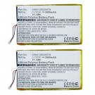 2pc eBook Reader Battery EBBK-PRB3 for Ectaco jetBook e-Book Reader
