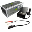 K2 Energy K2C24V2A 24V 2Ah LiFePO4 Charger with Faston 250 Connectors