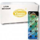 Vinnic L1154 400Ct Watch Batteries 1.5V Alkaline AG13 LR44