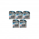 5x Energizer 2 Pack AA 1.5V Ultimate Lithium Long Lasting Batteries