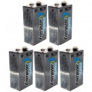 5pcs Energizer 9V Lithium Batteries Emergency Safety Devices Radios