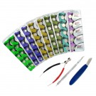 53pc Maxell Watch Battery Kit B, Assorted Batteries w/ 3 Free Tools