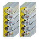 100pc Maxell 3V Lithium Coin Cell Battery CR1620 Replaces DL1620