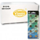 Vinnic S1131S 500Ct Watch Batteries 1.55V Silver Oxide 390 SR54