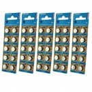 5x 10pk Vinnic S1154 Silver Oxide Button Cell Watch Battery- 357/303