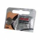 Maxell Silver Oxide Watch Battery SR1130SW Low Drain Replaces 390