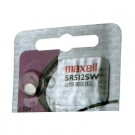 Maxell Silver Oxide Watch Battery SR512SW Low Drain Replaces 335