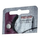 Maxell Silver Oxide Watch Battery SR616SW Low Drain Replaces 321