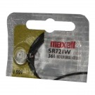 Maxell Silver Oxide Watch Battery SR721W High Drain Replaces 361 SR58