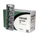 100pk Maxell Silver Oxide Watch Battery SR726W High Drain Replaces 396