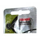 Maxell Silver Oxide Watch Battery SR916SW Low Drain Replaces 373