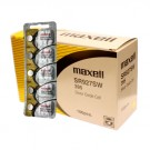 100pk Maxell Silver Oxide Watch Battery SR927SW Low Drain Replaces 395