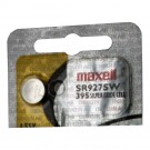 Maxell Silver Oxide Watch Battery SR927W Low Drain Replaces 395 GR927