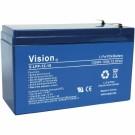 Vision V-LFP12V10AH 12V 10Ah Lithium Iron Phosphate Battery BMS