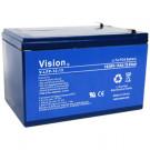 Vision V-LFP12V15AH 12V 15Ah Lithium Iron Phosphate Battery BMS