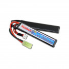 Lithium Polymer 7.4V 1000mAh Butterfly Battery Pack with Mini Tamiya