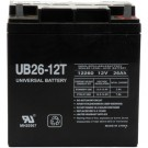 12V 26Ah 2pk Sealed Lead Acid Batteries Universal UB122260T