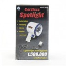 Cordless Spotlight 86048 with Blue Trim Light for the Outdoors