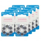 Hearing Aid Battery A675/B6_48 Evergreen 48pk, Size 675, 1.4V