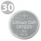 Exell CR1225 3V Lithium Coin Cell Batteries - DL1225 ECR1225 L30