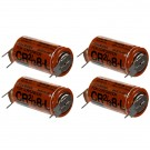 4x Fuji 2/3 8-L 3V Lithium Battery (ER17/33 equivalent) with Pin Tabs