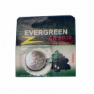 Evergreen Coin Cell Battery CR2032 3V Lithium Replaces DL2032, KL2032