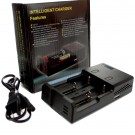 Intelligent 2 Slot Charger for Li-ion/NiMH/NiCD Multi-Size Batteries