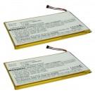 2pc eBook Battery EBBK-PDA317LI for Barnes & Noble Nook Color, Tablet