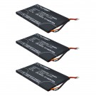 3pc eBook Battery EBBK-PRB25 for Barnes & Noble Nook Simple Touch