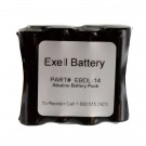 Door Lock Battery EBDL-14 for Saflok Select 4000 Replaces 23560