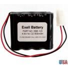 Emergency Lighting Battery Fits Lithonia 277ELNF ELB-4865N ELB4865N