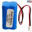 Emergency Lighting Battery Fits  Interstate NIC0186 Simkar 6600012