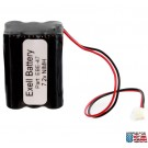 Emergency Lighting Battery  for ITI 34-051 Sanyo 6HRAAAU 6HRAAAU34051