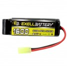 Airsoft Battery Pack EBHP-11 NiMH Flat Pack Mini Replaces 11328