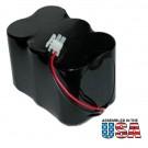 Battery Pack EPU-6X0810-MRR for Metricom Scada Repeater Radios SLA 12V