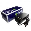 K2 Energy K2C12V4A 12V 4Ah LiFePO4 Smart Charger with 2 Pin SAE Plugs