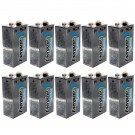 10pcs Energizer 9V Lithium Batteries for Carbon Monoxide & Smoke Alarm