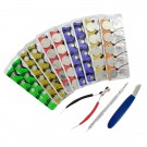 53pc Maxell Watch Battery Kit A, Assorted Batteries w/ 3 Free Tools