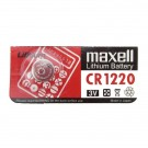 Maxell 3V Lithium Coin Cell Battery CR1220 Replaces DL1220, BR1220
