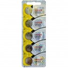5pc Maxell 3V Lithium Coin Cell Battery CR1620 Replaces DL1620, BR1620