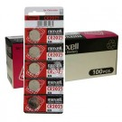 100pc Maxell 3V Lithium Coin Cell Battery CR2025 Replaces DL2025