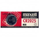 Maxell 3V Lithium Coin Cell Battery CR2025 Replaces DL2025, ECR2025